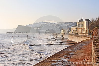 Teignmouth in winter