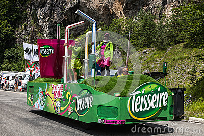 Teisseire Truck Editorial Image