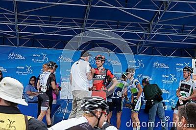 Tejay Van Garderen 2013 Tour of California Editorial Photo