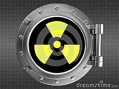 Teken van straling