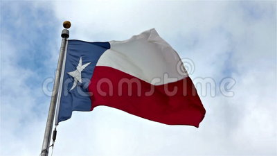 Teksas stanu flaga zbiory