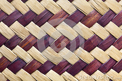 Tekstura bambusowy weave