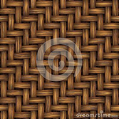 Tekstury bezszwowy wicker