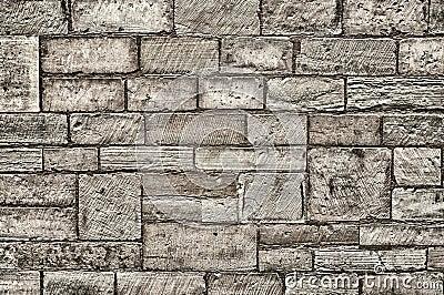 Tekstury kamienna ściana