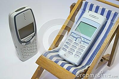 Teléfono celular del retiro