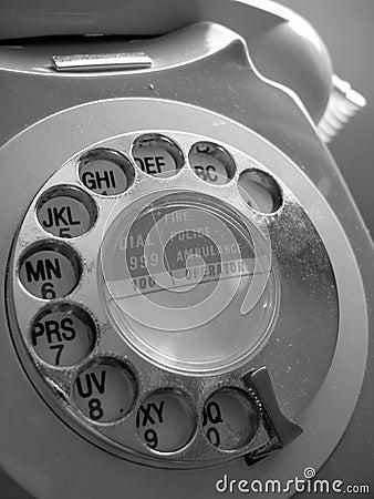 Teléfono de dial