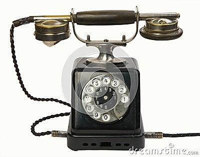 Teléfono de la antigüedad