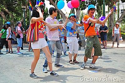 Tel Aviv 2010 Gay Parade Editorial Stock Image