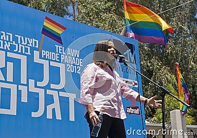 Tel Aviv gay pride Editorial Stock Image