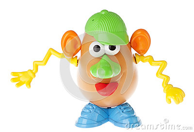 Mr. Potato Head - Goofing Off Editorial Stock Photo