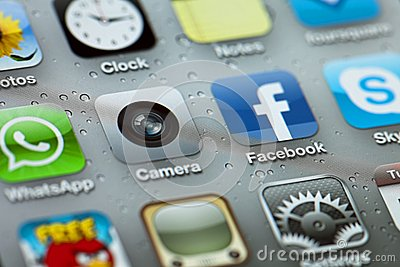 IPhone 4 Apps Editorial Photo