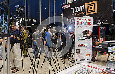 TEL- AVIV, ISRAEL - NOVEMBER 1 - 8th Conference photographs 2013 Editorial Image