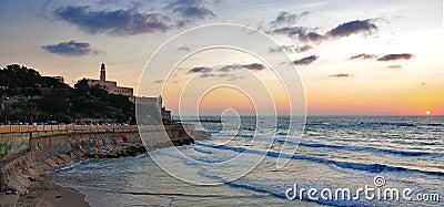Tel Aviv Jaffa Sunset, Israel