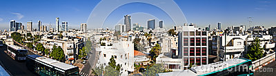 Tel-Aviv panoramic view