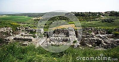 Tel Gezer iron age excavations