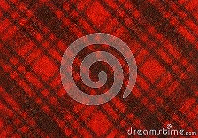 Tela de la tela escocesa