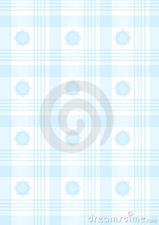 Tela escocesa azul
