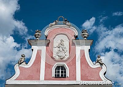 Telc historical house