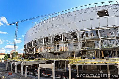 Tele2 Arena in Stockholm Editorial Image