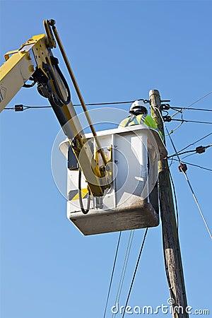 Free Telecom/Electrical Engineer Stock Photo - 23059480