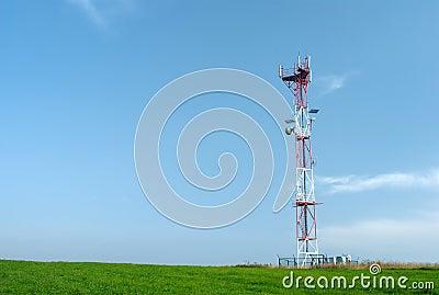 Telecom GSM tower