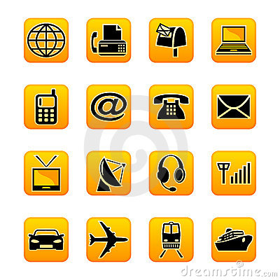 Telecom & Transportation Royalty Free Stock Photos - Image: 7803128