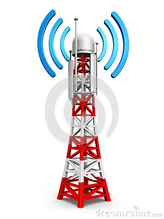 Free Telecommunication Antenna Tower Stock Photos - 43091303