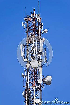 Free Telecommunication Antennas Stock Images - 24041944