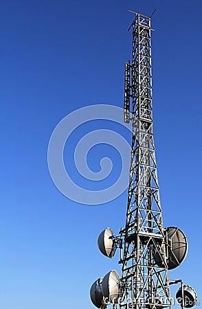 Telecommunication metal tower