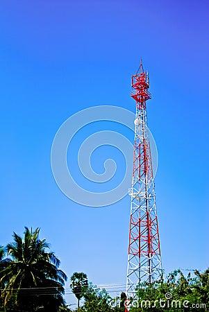 Telecommunication post