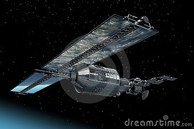 Telecommunication Satellite Royalty Free Stock Images - Image: 14936059