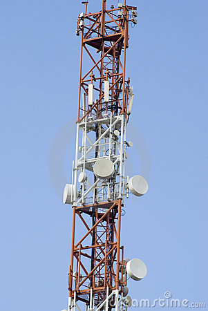Telecommunication Tower Stock Image - Image: 11894251