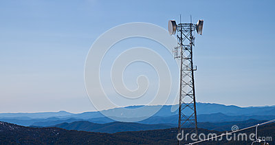 Telecommunications antennas tower