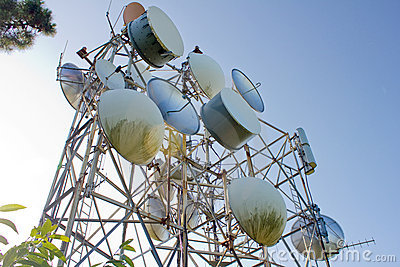 Telecommunications on the sky