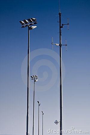 Telecommunications Tower & Floodlights