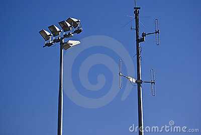 Telecommunications Tower & Floodlights
