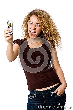 Telefone do retrato