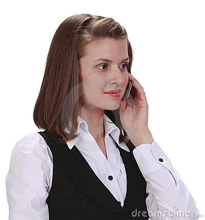 Telefonkvinnabarn
