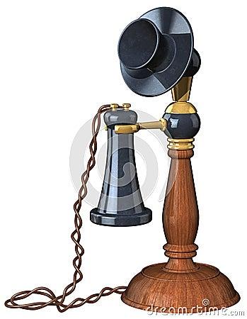 Telefono di vecchio stile fotografie stock immagine 1766673 for Porticati vecchio stile
