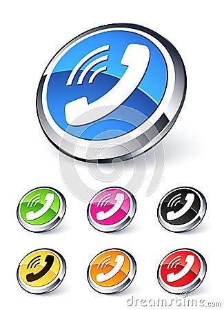 Telefoon pictogram