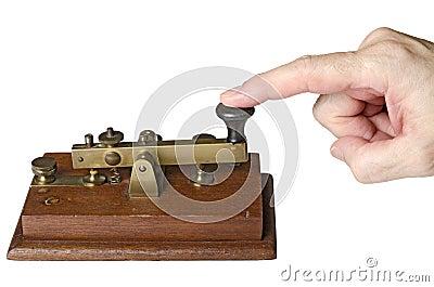 Telegrafera meddelandet