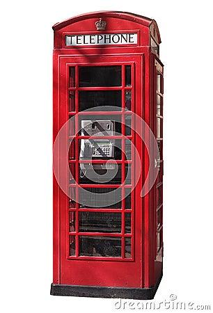 Free Telephone Booth Stock Photo - 3464330