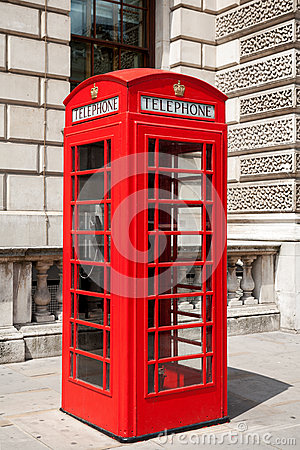 Telephone booth. London, UK