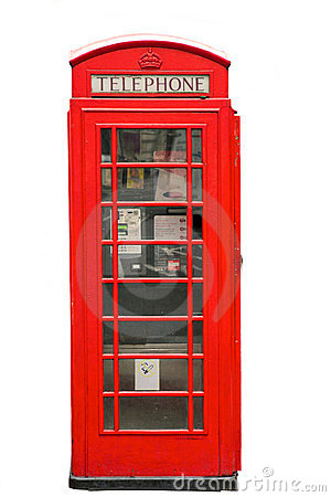 Free Telephone Box Royalty Free Stock Photography - 24219697