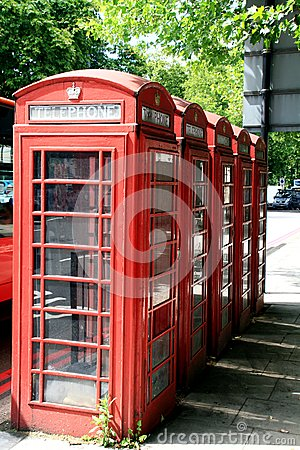 Free Telephone Box Royalty Free Stock Photography - 25206677
