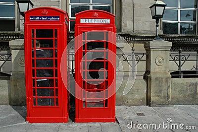 Telephone boxes
