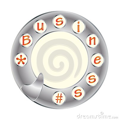 Telephone disk and business