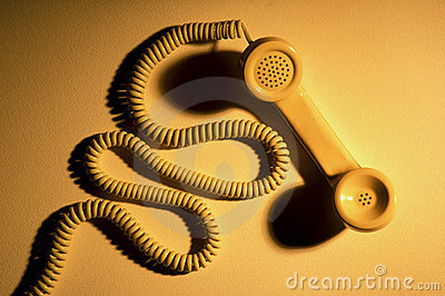 Telephone Handset and Cord