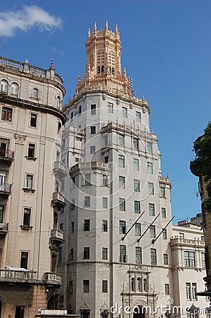 Telephone Headquarters, Havana, Cuba