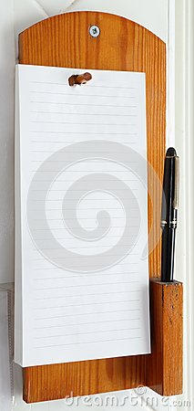 Telephone Note Pad